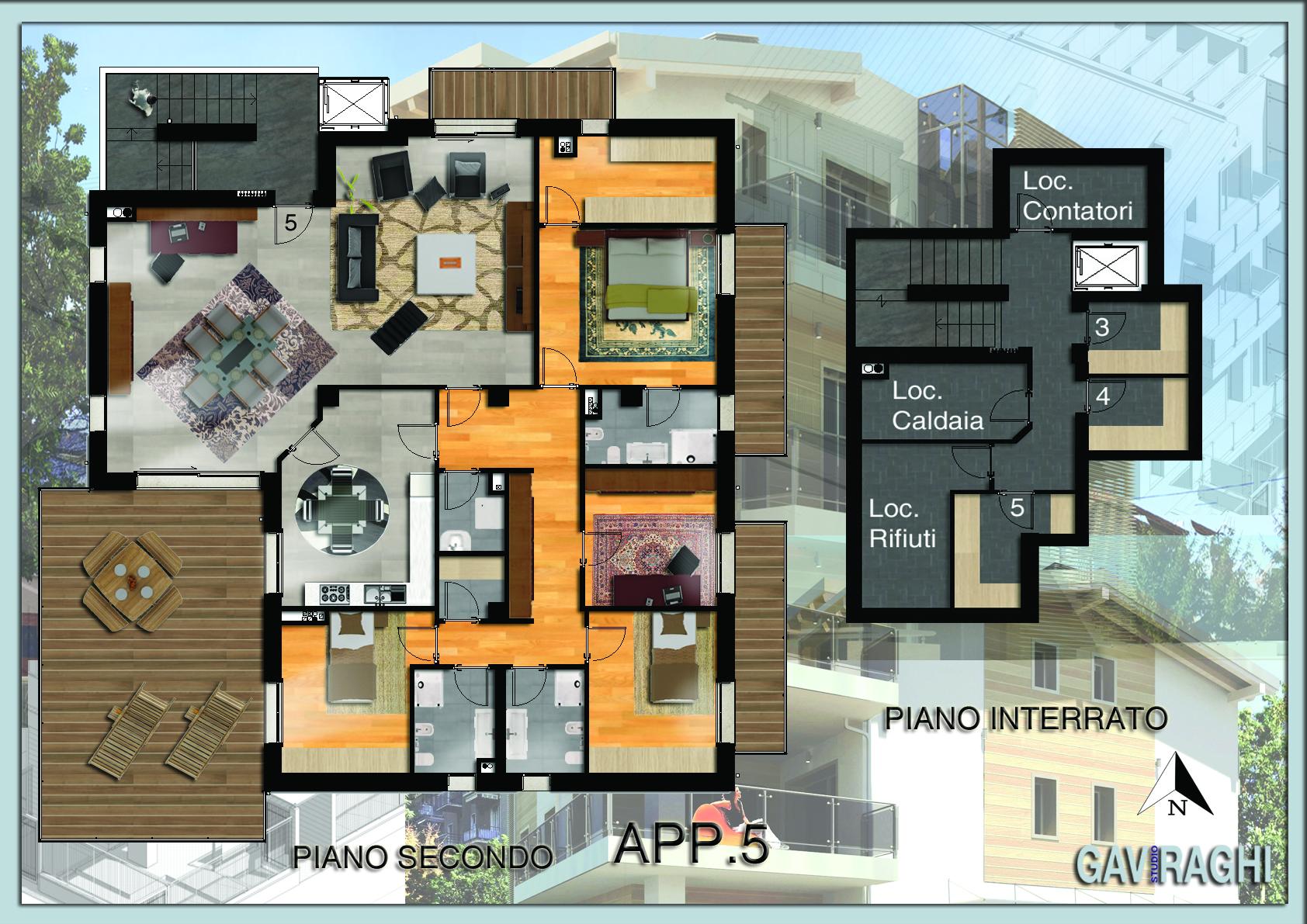Appartamento via Biraghi, Cernusco sul Naviglio