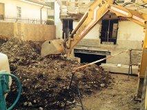 Ristrutturazione, scavi