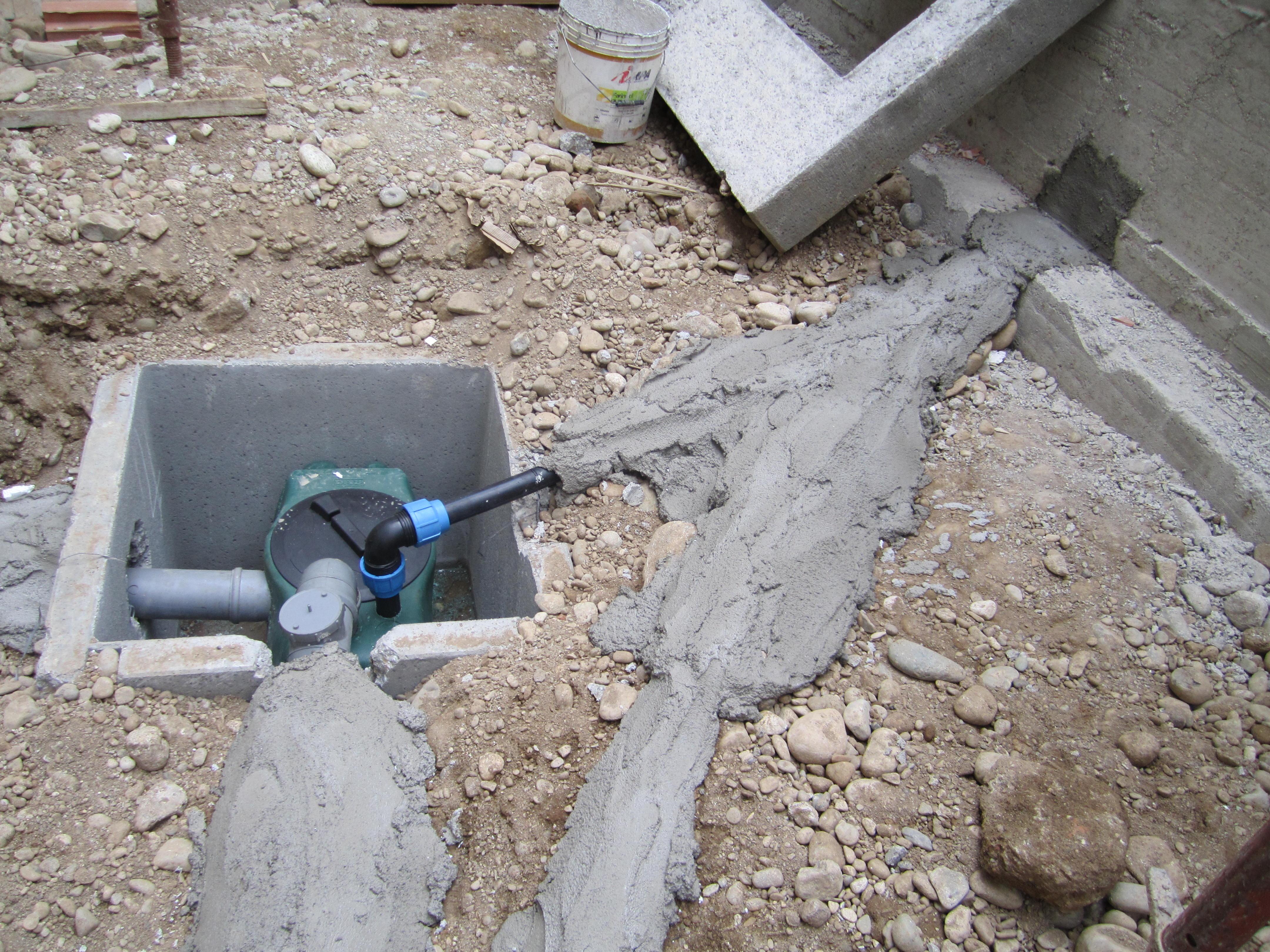 impianto dell'acqua, pompa
